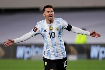 Leo Messi, capitán general de una lista sin sorpresas en la 'Albiceleste'. EFE