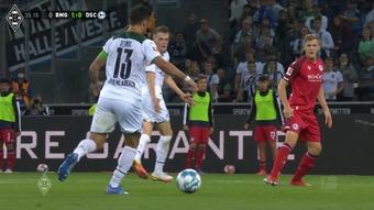 Le doublé de Lars Stindl contre Bielefeld. Dugout