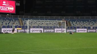 Golaços e grandes defesas no treino da seleção espanhola. DUGOUT