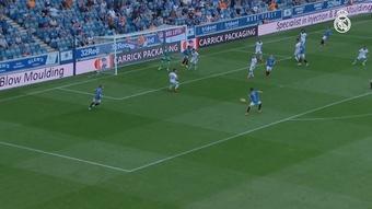 El Real Madrid perdió en el amistoso de Glasgow. Captura/DUGOUT