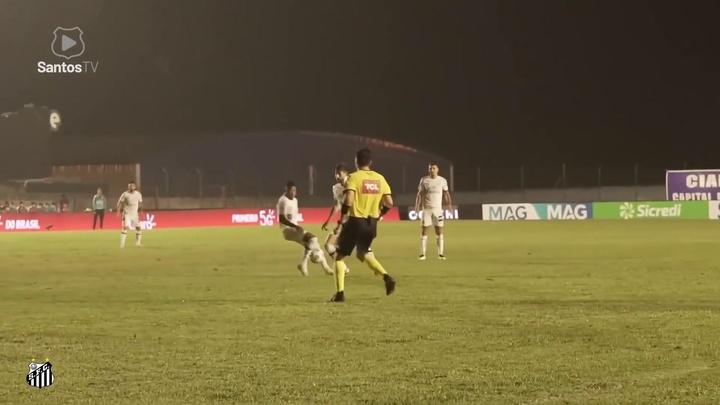 Les meilleurs buts de Kaio Jorge avec Santos. Dugout