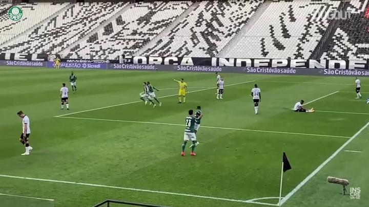 Palmeiras vence o Corinthians e avança para final do Paulista 2021. DUGOUT