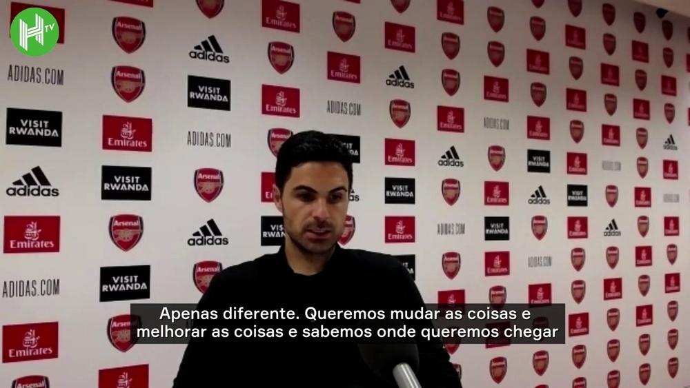 Arteta projeta dias melhores no Arsenal. DUGOUT