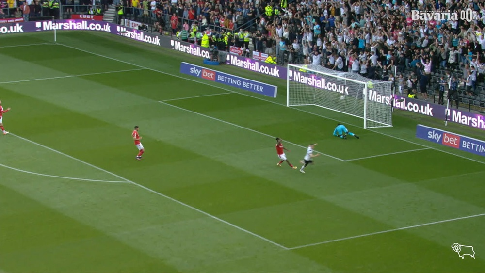 Tom Lawrence scored as Derby drew with Forest. DUGOUT