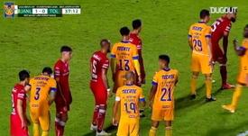 Gignac da record contro il Toluca. Dugout