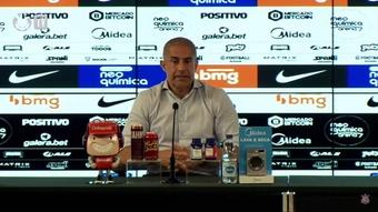 Técnico do Corinthians falou após empate por 1 a 1. DUGOUT