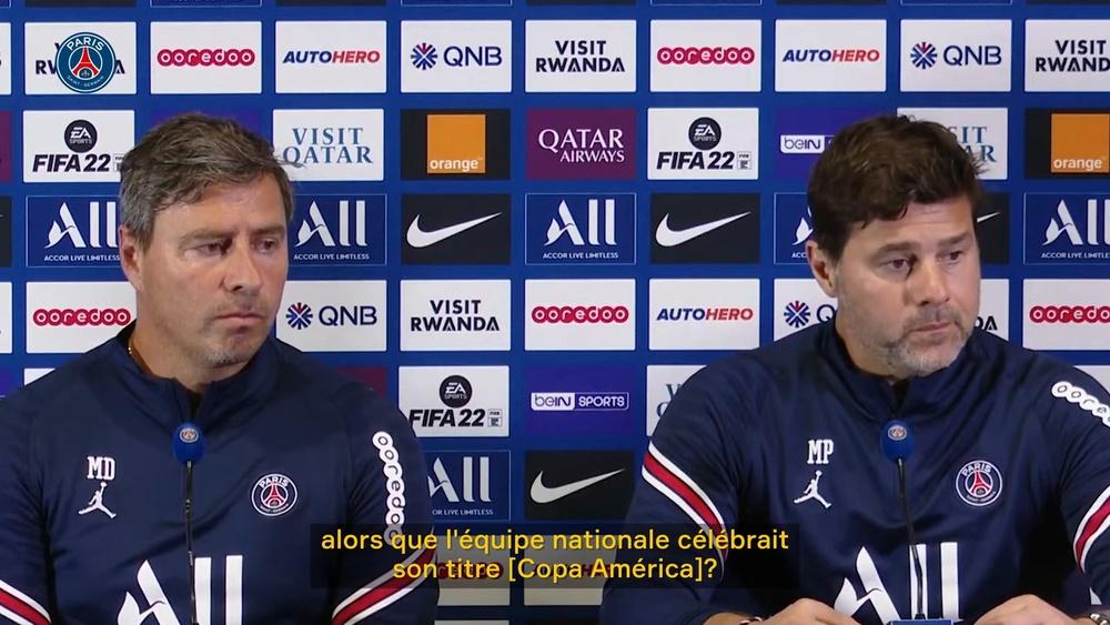 Pochettino est 'très heureux pour Messi'