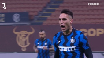 Inter struck first against Juventus, but ended up losing. DUGOUT