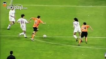 Grandes goles del Valencia al Sevilla. Dugout