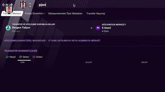Besiktas anuncia Miralem Pjanic.
