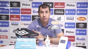 Carille explica mudança do Santos.