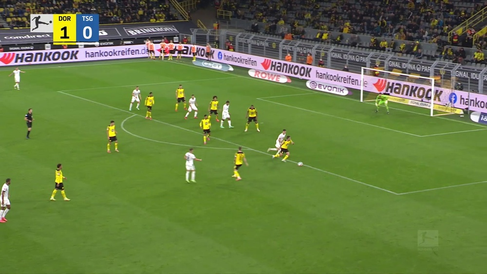 Dortmund defeated Hoffenheim 3-2 on Friday. DUGOUT