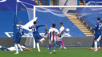 Ben Chilwell's first Chelsea goal. DUGOUT