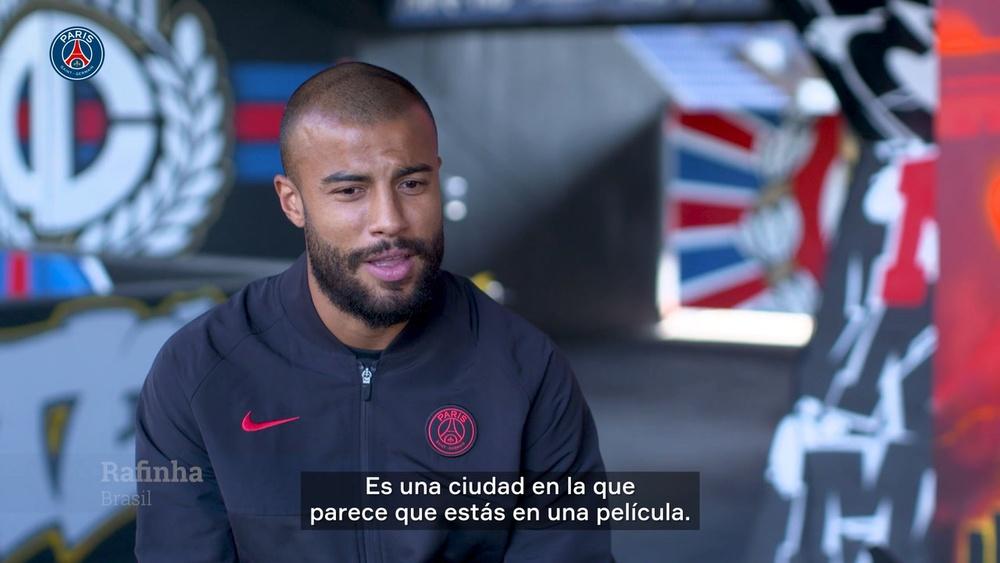 Los jugadores del PSG, sobre París, el fútbol de barrio y la multiculturalidad. Captura/DUGOUT