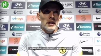 Chelsea manager Thomas Tuchel speaks on Lukaku's first couple of goals at Stamford Bridge. DUGOUT