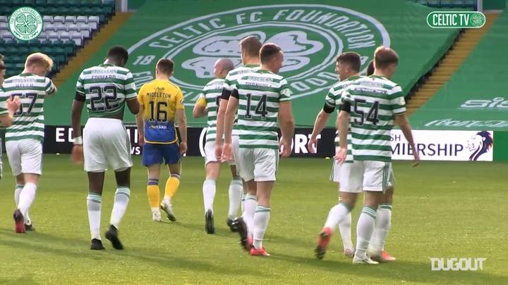 Celtic were far too good for St Johnstone. DUGOUT