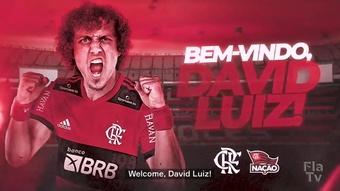 David Luiz announced as new Flamengo player. DUGOUT