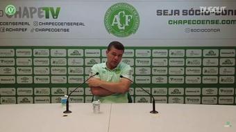 Técnico da Chapecoense, Umberto Louzer falou sobre o empate com o Brusque. DUGOUT