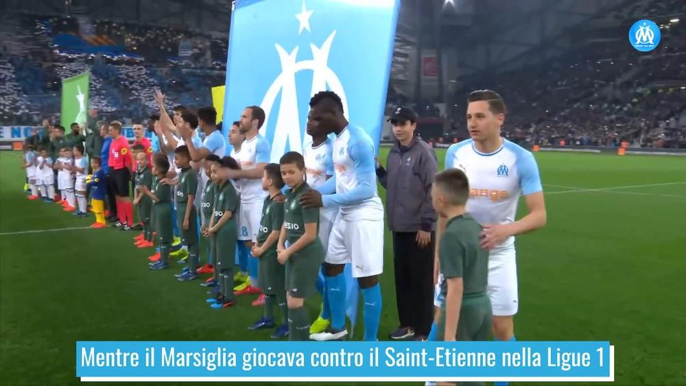 Balotelli e il suo festeggiamento su Instagram. Dugout