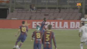 Ousmane Dembélé's quick feet and speed. DUGOUT