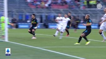 El Inter goleó al Bologna. DUGOUT