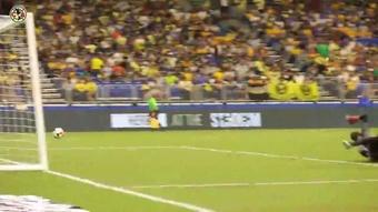 Salvador Reyes's winner vs Tigres. DUGOUT