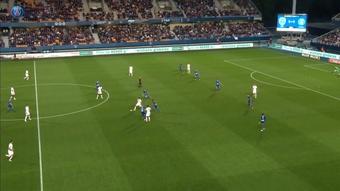VIDEO : Le premier but d'Icardi en Ligue 1 2021-22. AFP