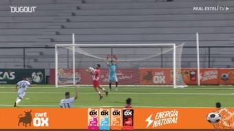 Juan Barrera marcó el único tanto del partido. DUGOUT