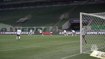 Palmeiras got a 2-0 victory over Gremio. DUGOUT