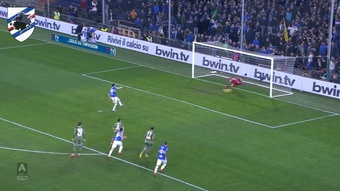 Sampdoria have scored some cracking goals against Napoli over the years. DUGOUT