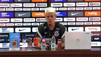 Roger Guedes revela sonho do joga no Corinthians. DUGOUT