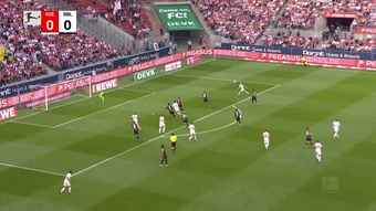 Cologne and Leipzig drew 1-1 in the Bundesliga. DUGOUT