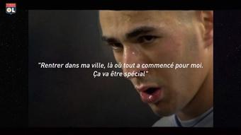VIDÉO : le retour de Karim Benzema à Lyon. Dugout