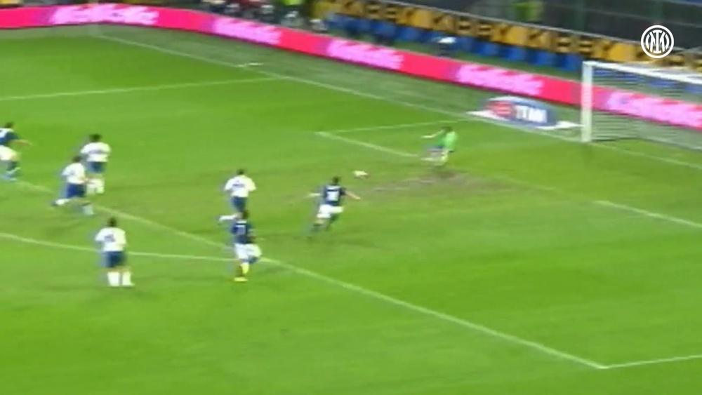 I gol di Ibra contro la Samp. Dugout