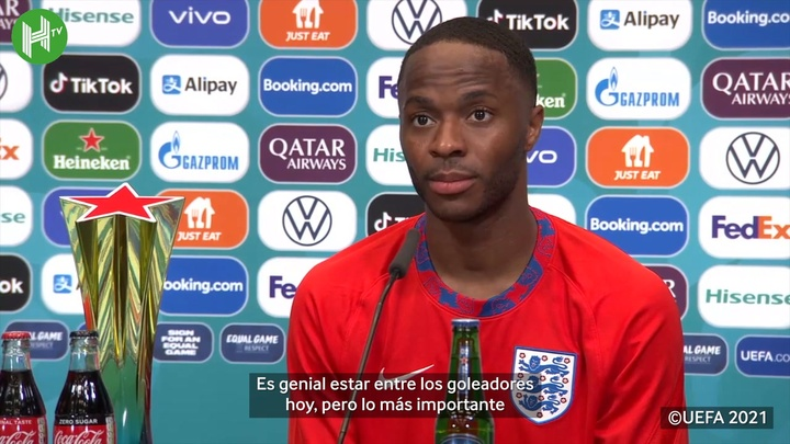 Sterling valoró el triunfo de Inglaterra ante Croacia. DUGOUT