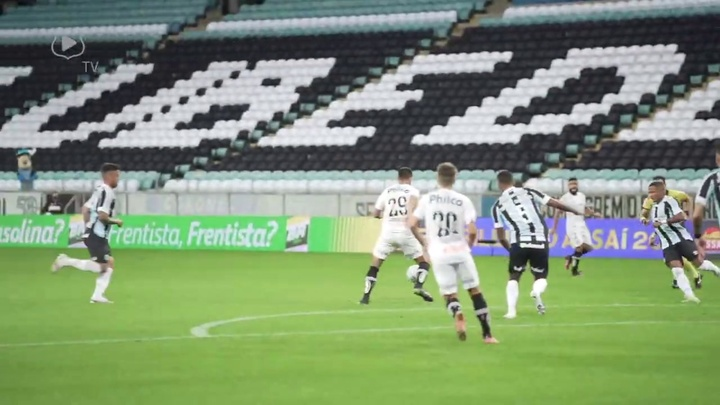 Confira os gols do Santos no empate com o Grêmio. DUGOUT