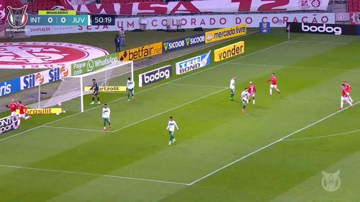 Thiago Galhardo anotó 34 goles en 81 partidos con Internacional. Dugout