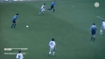 I giocatori dell'Inter che hanno segnato due volte per il loro esordio. Dugout