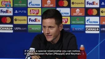 Ander Herrera denies rumors on Mbappe's and Neymar's relationship. DUGOUT