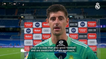 Courtois was Real Madrid's best player in a 0-0 draw against Villarreal. DUGOUT