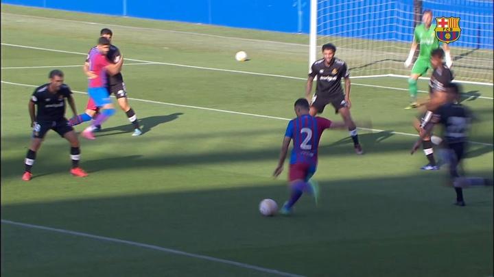 VÍDEO: así fue la goleada del Barça al Nàstic. DUGOUT