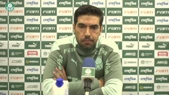 Abel Ferreira fez a análise da derrota.
