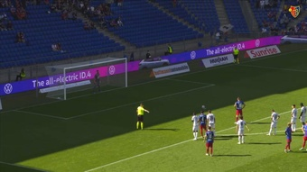 Esposito, tre gol in tre giornate con il Basilea. Dugout