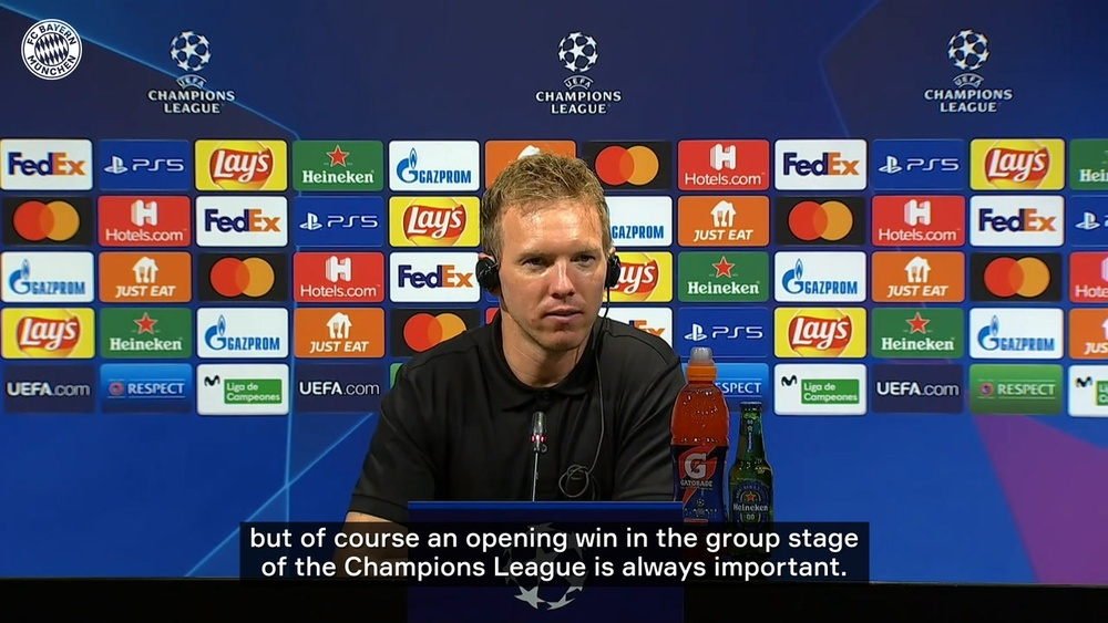 Nagelsmann speaks on win at Camp Nou. DUGOUT