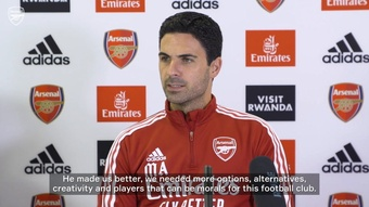 Arteta has been granted his wish to have Odegaard back. DUGOUT