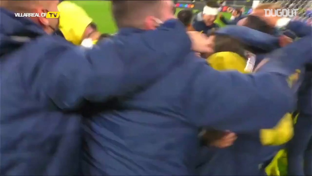 Villarreal won the first trophy in their history after a thrilling penalty shootout. DUGOUT