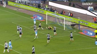I salvataggi di Buffon contro il Napoli. Dugout