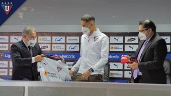 Santiago Scotto ya está en Liga de Quito. DUGOUT