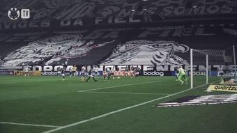 Com dois de Róger Guedes, Corinthians vence o Palmeiras na Neo Química Arena. DUGOUT