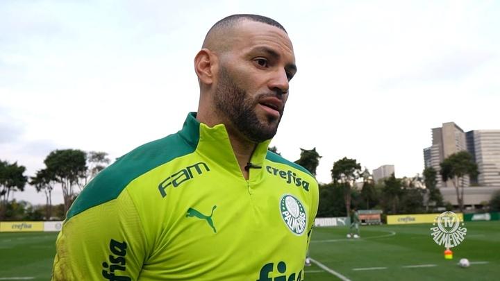 Weverton exalta momento no Palmeiras. DUGOUT